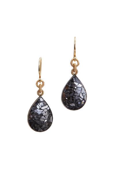 Dana Kellin - Yellow Gold Diamond Earrings