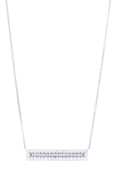 Jamie Wolf - White Gold Double Scallop Diamond Necklace