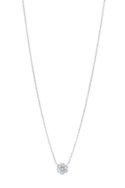 Jamie Wolf - White Gold White Lilac Diamond Necklace