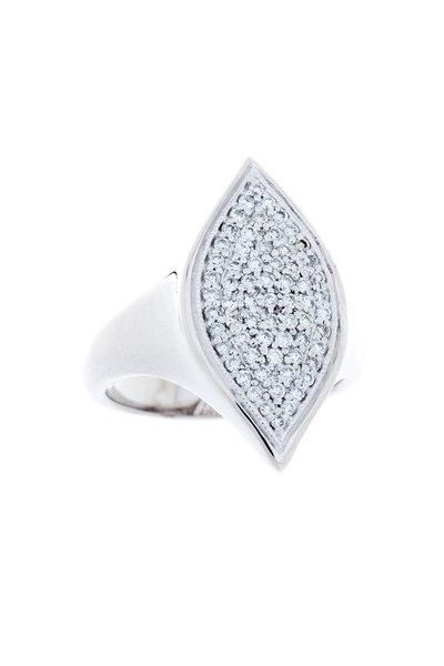 Jamie Wolf - Becca White Gold Pavé Diamond Ring