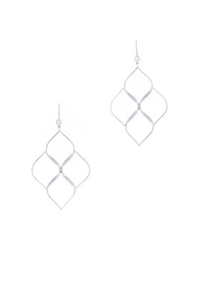 Jamie Wolf - 18K White Gold Aladdin Chandelier Earrings