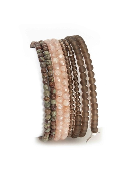 Brunello Cucinelli - Beaded Zebra Bracelet