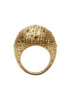 Yossi Harari - Roxanne Yellow Gold Lace Champagne Diamond Ring