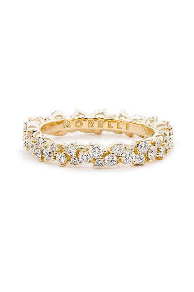 Paul Morelli - 18K Yellow Gold Confetti Diamond Ring