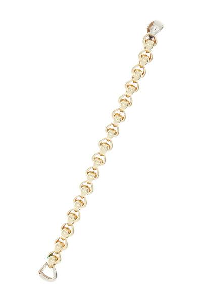 Pomellato - Yellow Gold Vintage Link Bracelet