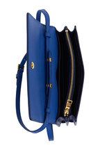 Prada - Royal Blue Saffiano Leather Small Crossbody