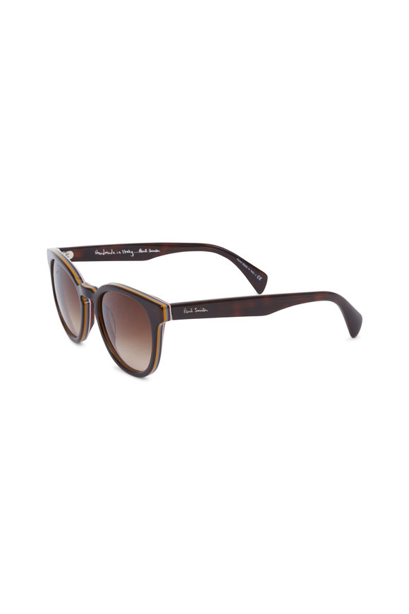 Paul Smith Serle Nector Tortoise Wayfarer Sunglasses