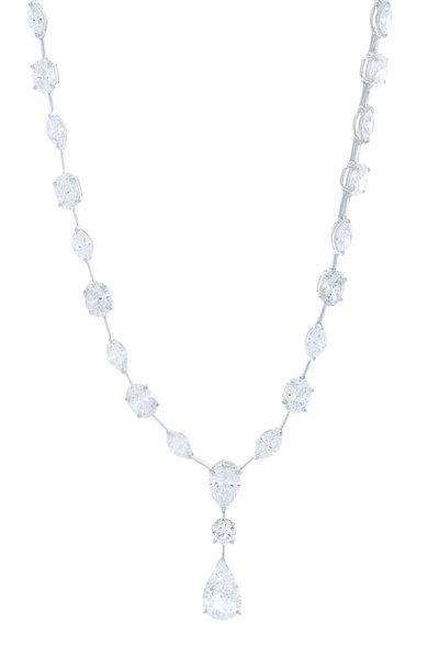 Louis Newman - Fancy Diamond Necklace