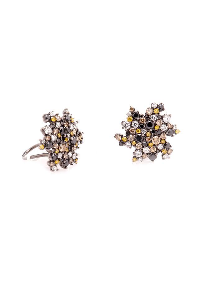 Gold Confetti Diamond Earrings