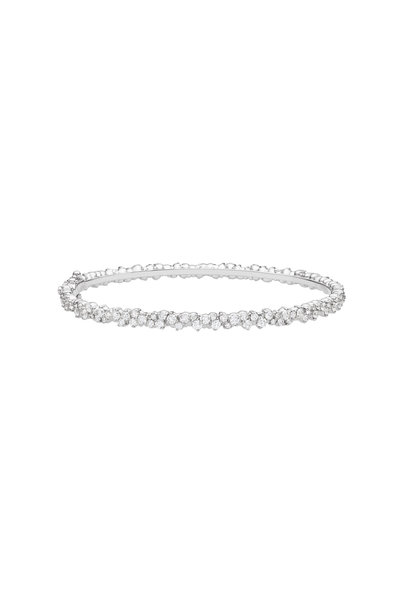 Paul Morelli - 18K White Gold Diamond Confetti Bracelet