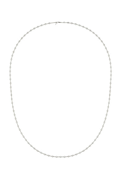 Paul Morelli - White Gold Diamond Small Puddle Chain Necklace