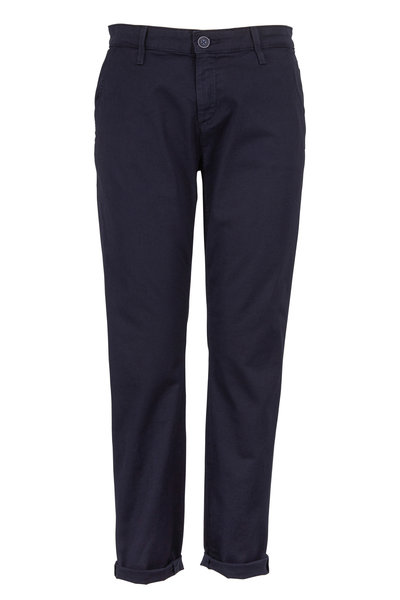 AG - Tristan Navy Blue Cotton Twill Pants