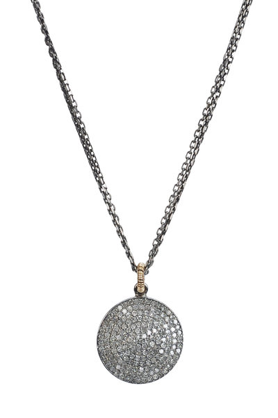 Dana Kellin - 14K Yellow Gold Pavé Diamond Necklace