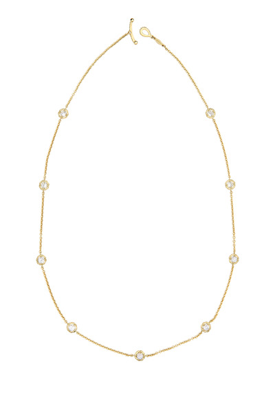 Paul Morelli - Yellow Gold White Diamond Necklace