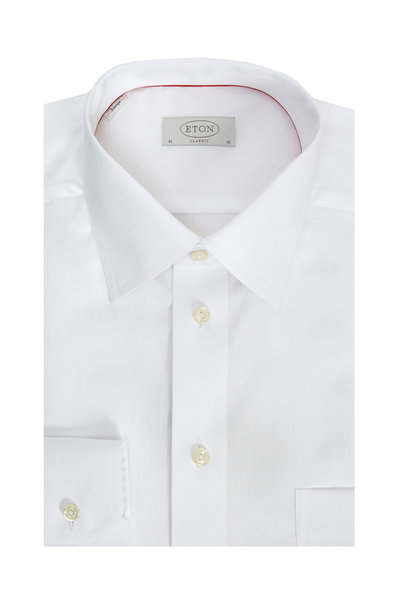 Eton - Classic White Classic Fit Dress Shirt