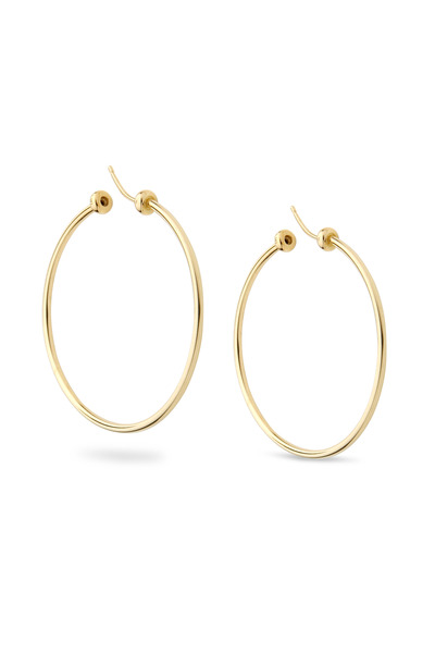 Paul Morelli - Rigid Gold Hoop Earrings