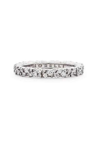 Paul Morelli - White Confetti Diamond Ring