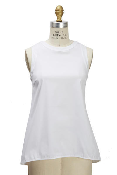 Brunello Cucinelli - White Poplin Blouse