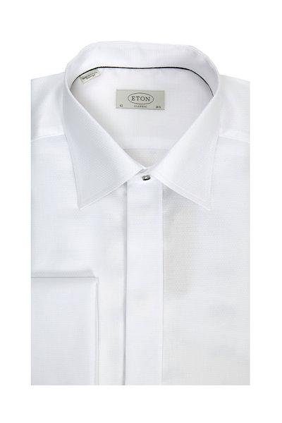 Eton - White French Cuff Classic Fit Dress Shirt