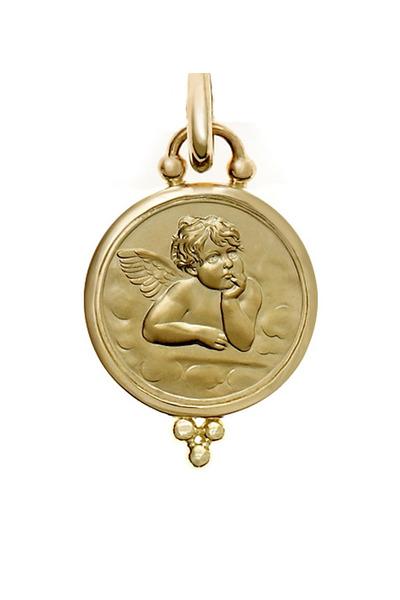 Temple St. Clair - Gold Angel Pendant