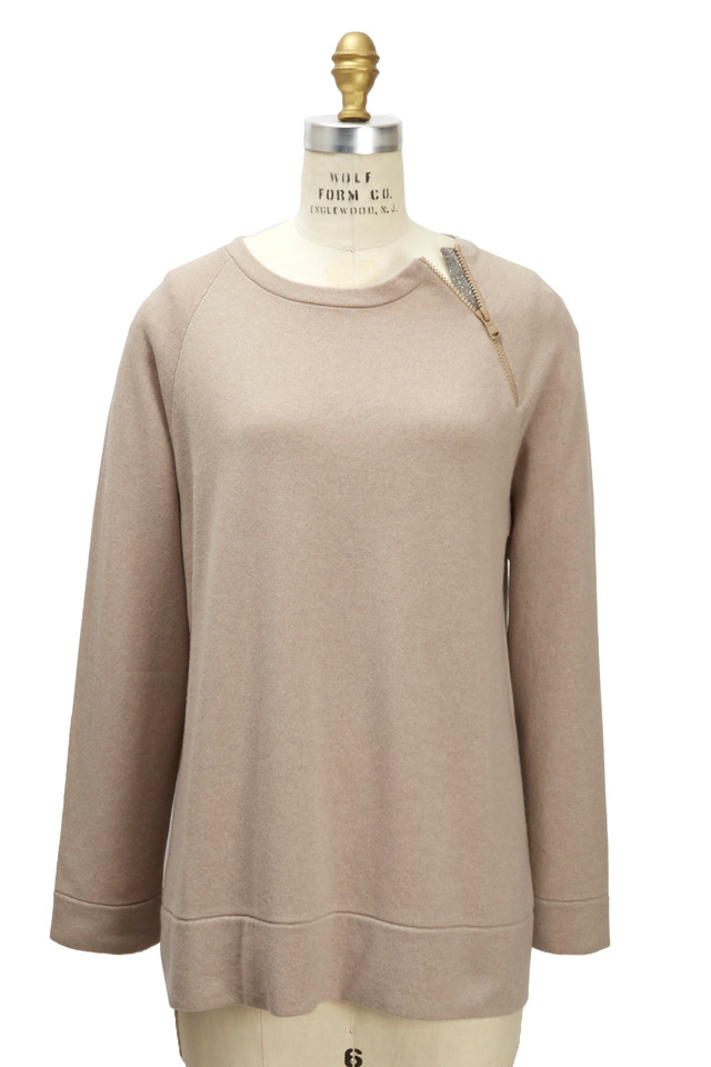Nutmeg Cashmere Pullover