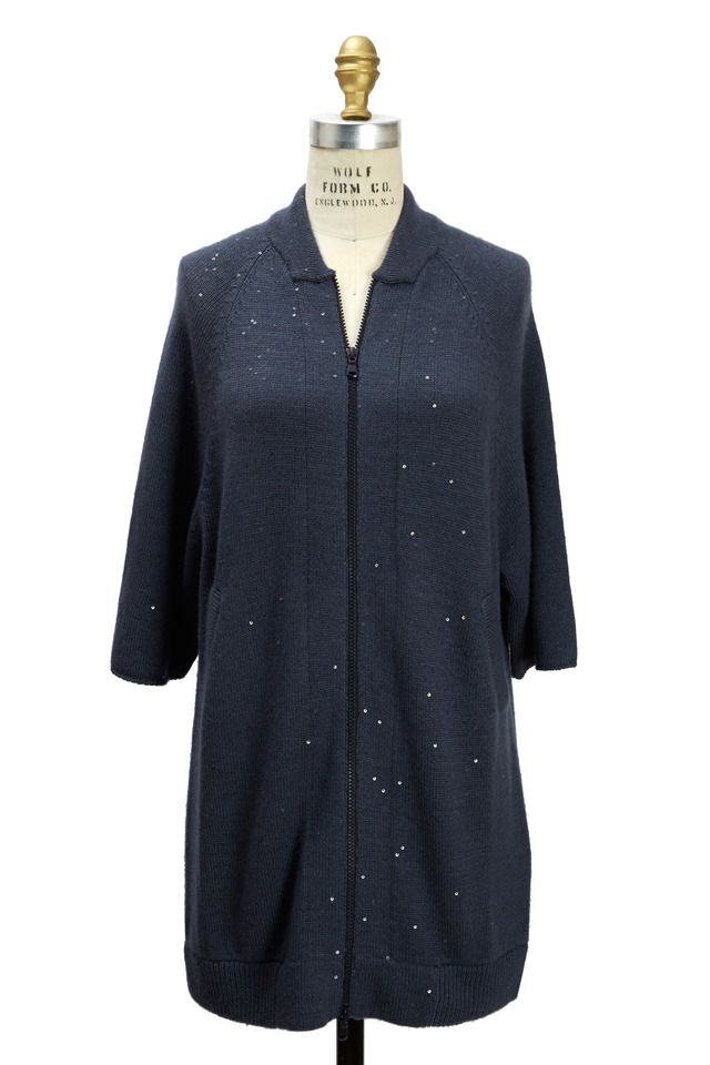 Galaxy Cashmere & Silk Cardigan