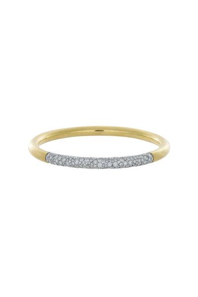 Kathleen Dughi - Grande Mosaic Gold & Platinum Diamond Bracelet