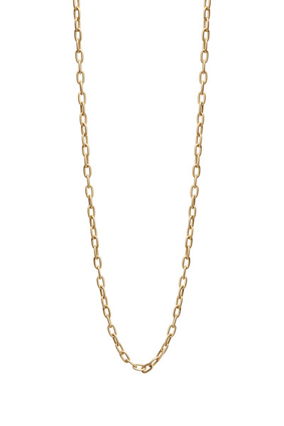 Kathleen Dughi - Yellow Gold Oval Link Chain