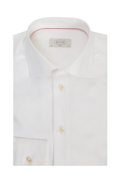 Eton - White Slim Fit Dress Shirt