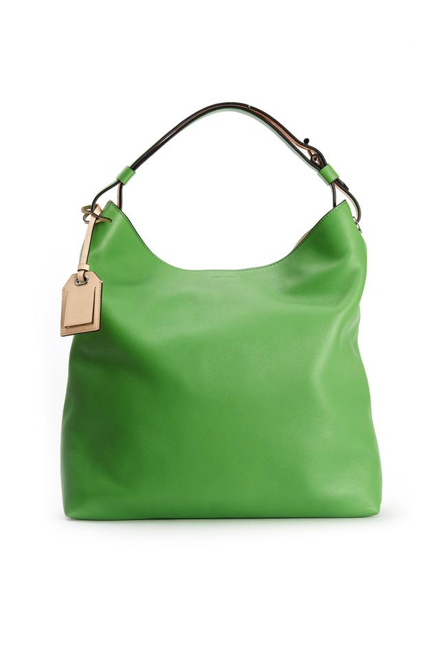 RDK Green Leather Hobo