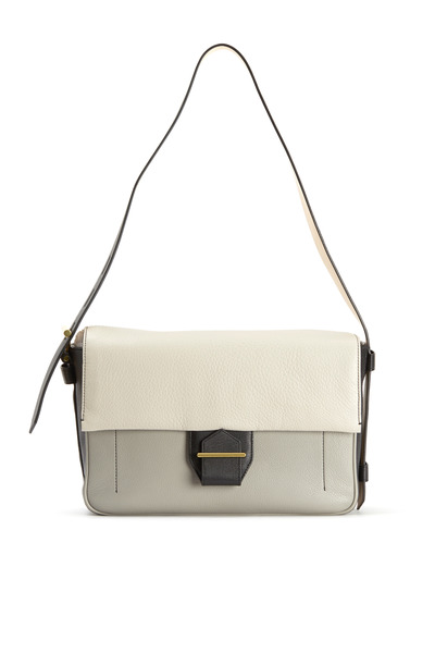 Reed Krakoff - Standard Grey & Black Deerskin Shoulder Bag