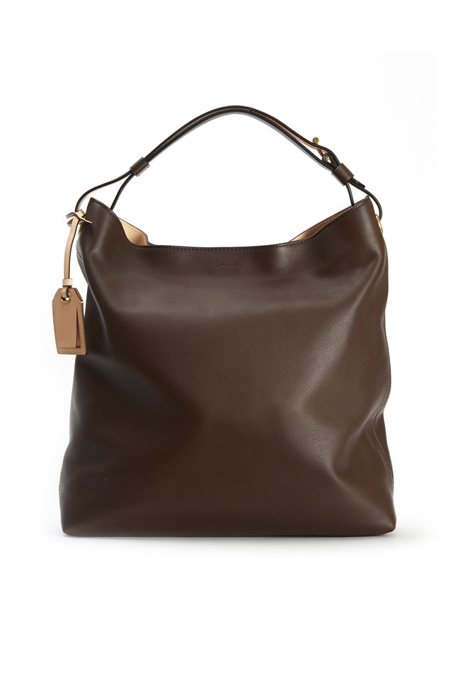 RDK Bark Brown Leather Hobo
