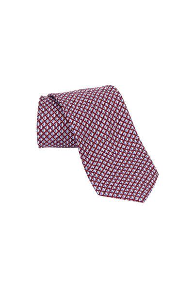 Ermenegildo Zegna - Red Diamond Silk Necktie