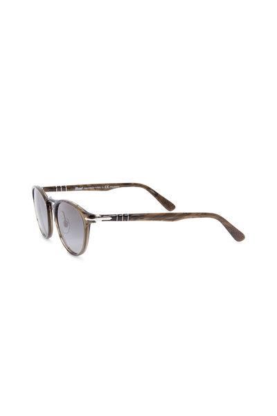 Persol - Typewriter Cortex Stripped Phantos Sunglasses
