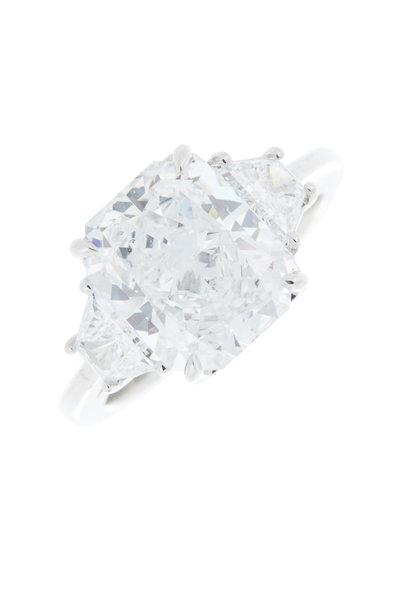Louis Newman - Radiant Diamond Bridal Ring