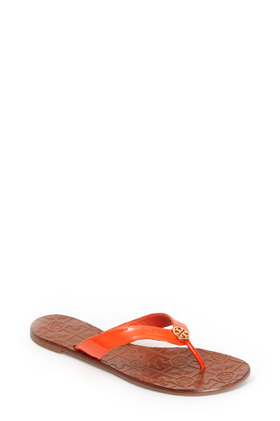Tory Burch - Thora Coral Saffiano Sport Sandal