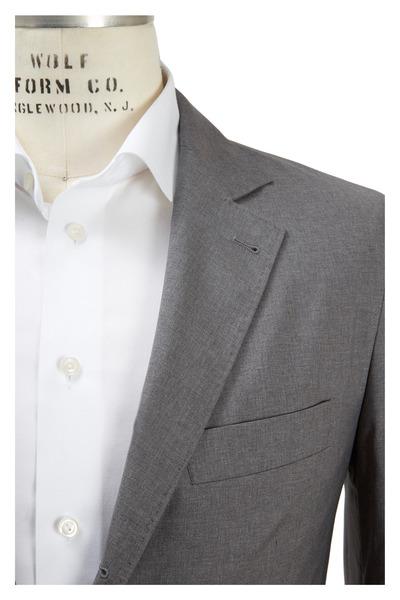 Brunello Cucinelli - Light Gray Travel Jacket