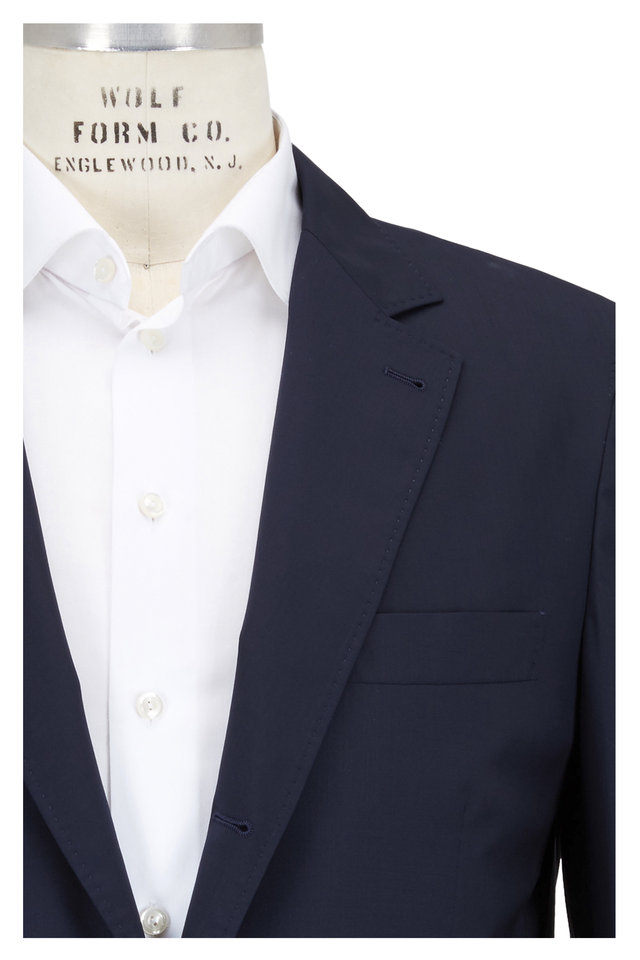 Navy Blue Lightweight Travel Sportcoat