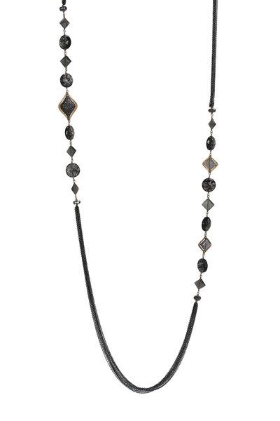 Dana Kellin - Black Quartz Necklace