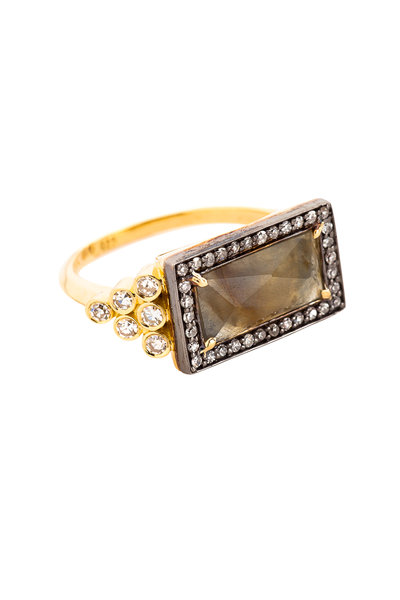 Sorellina - Axl Lampadario Gold Diamond Ring