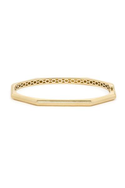Sorellina - Otto Classico Gold Octagonal Hinge Bracelet