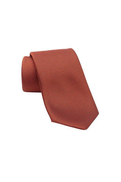 Charvet - Copper Silk Necktie