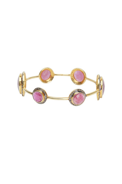 Loren Jewels - Ruby Bangle Bracelet