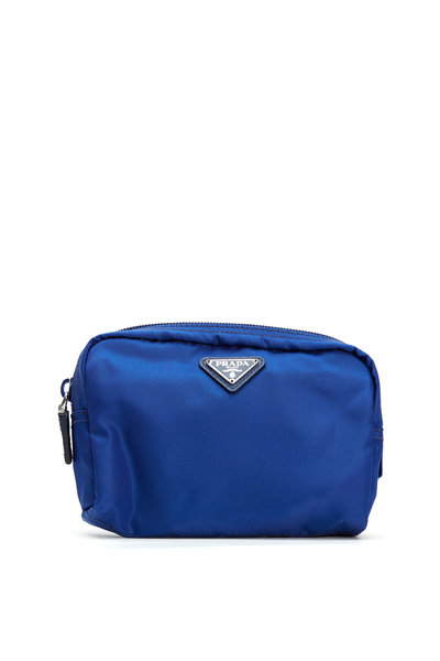 Prada - Blue Cosmetic Bag