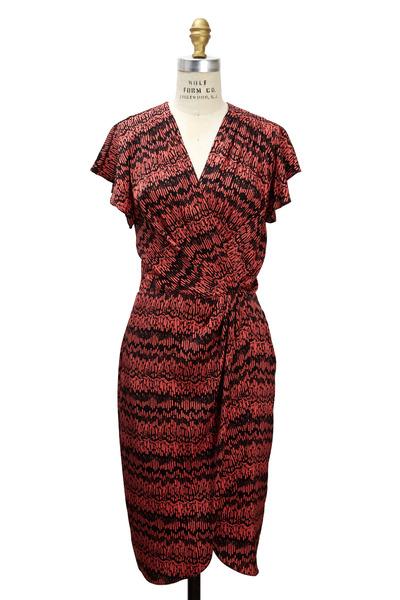 Veronica Beard - Geranium Silk Dress