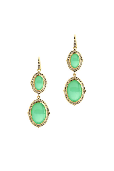 Syna - Green Kamala Dangle earring