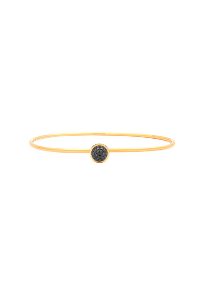 Syna - Baubles Yellow Gold Black Diamond Bracelet
