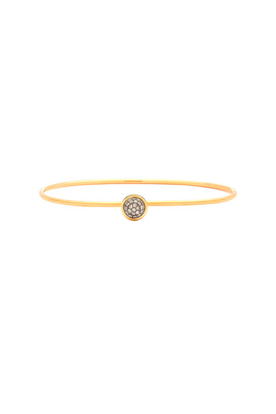 Syna - 18K Yellow Gold Champagne Diamond Bracelet