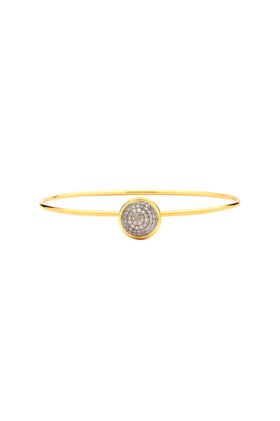 Syna - Baubles Yellow Gold Champagne Diamond Bracelet