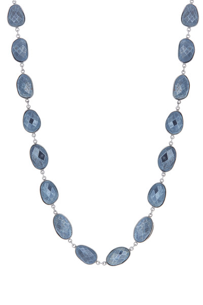 Loriann - Sterling Silver Mystic Spinel Accessory Necklace